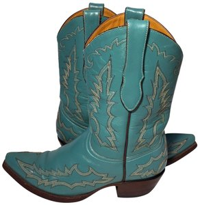Old Gringo Size 8 Western Size 8 Cowgirl Size 8 Blue Boots