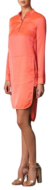 Item - Orange/Pink Tunic Coral Short Casual Dress Size 6 (S)