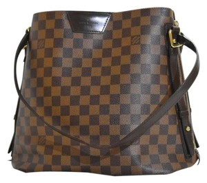 Louis Vuitton Cabas Rivington Cabas Zippy Damier Ebene Tote Shoulder Bag