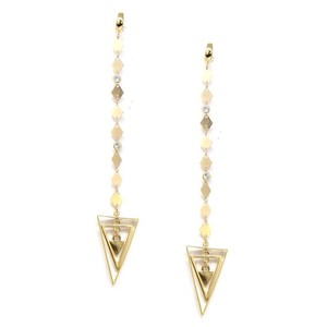 Ettika 18k Gold Plated Buying Time Earrings