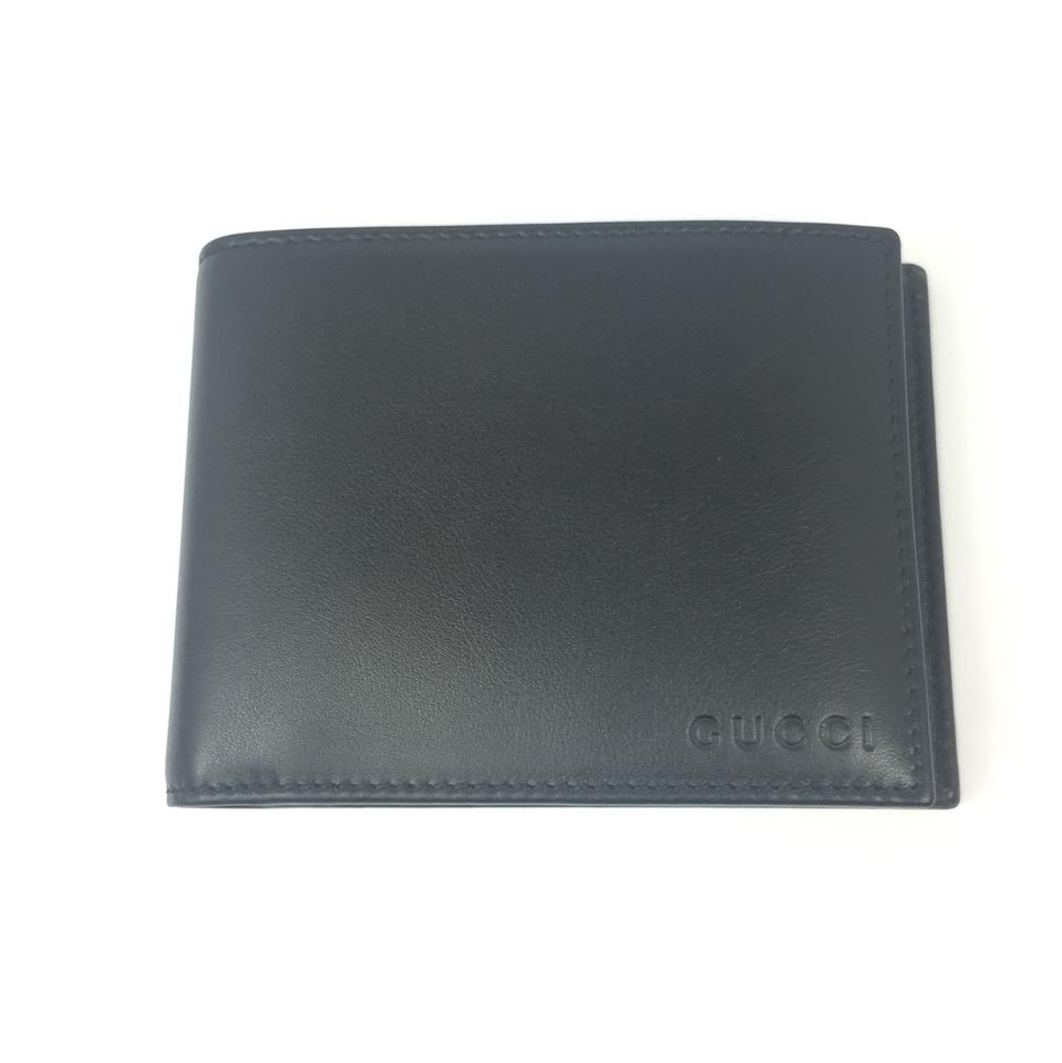 5eeb1a116c1 Gucci Gucci Black Smooth Leather Wallet with ID Insert  333042 Image 0 ...
