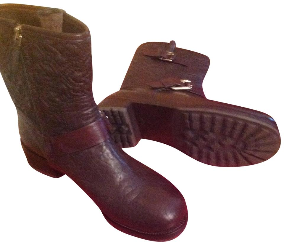 Tory Burch Brown Chrystie Quilted Boots Size US 9.5 Regular (M, B ... : tory burch quilted boots - Adamdwight.com