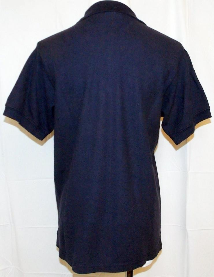 871f3569 L.L.Bean Navy Blue L Polo Sleeve Cotton Small Tee Shirt Size 4 (S ...