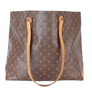 Louis Vuitton Cabas Mezzo Monogram Lv Neverfull Keepall Tote in brown