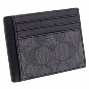 Coach black new mens two side id credit card business case holder coach new coach mens two side id credit card business case holder black colourmoves