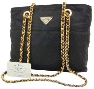 311796d58fca Prada Shoulder Bag · Prada. Milano Logo Chain Shoulder Bag