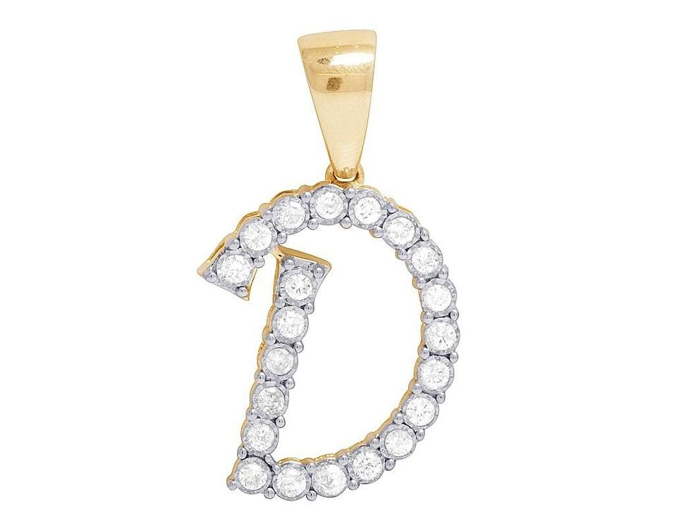 Jewelry unlimited 10k yellow gold diamond letter d initial pendant jewelry unlimited 10k yellow gold diamond letter d initial pendant 052 ct 11 aloadofball Images