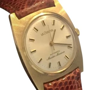 Jaeger-LeCoultre LE COULTRE MASTER MARINER 14 KT SOLID GOLD AUTOMATIC MENS LADIES LUXURY WATCH