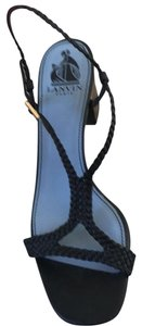 Lanvin black with blue sole Formal