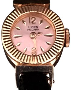 Lucien Piccard LUCIEN PICCARD VINTAGE RARE HI FASHION ESTATE LADIES DIAMOND 14 KT WATCH RARE!!!