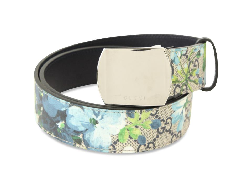 b538aec17d2 Gucci Multicolor Gg Blooms Supreme Belt - Tradesy