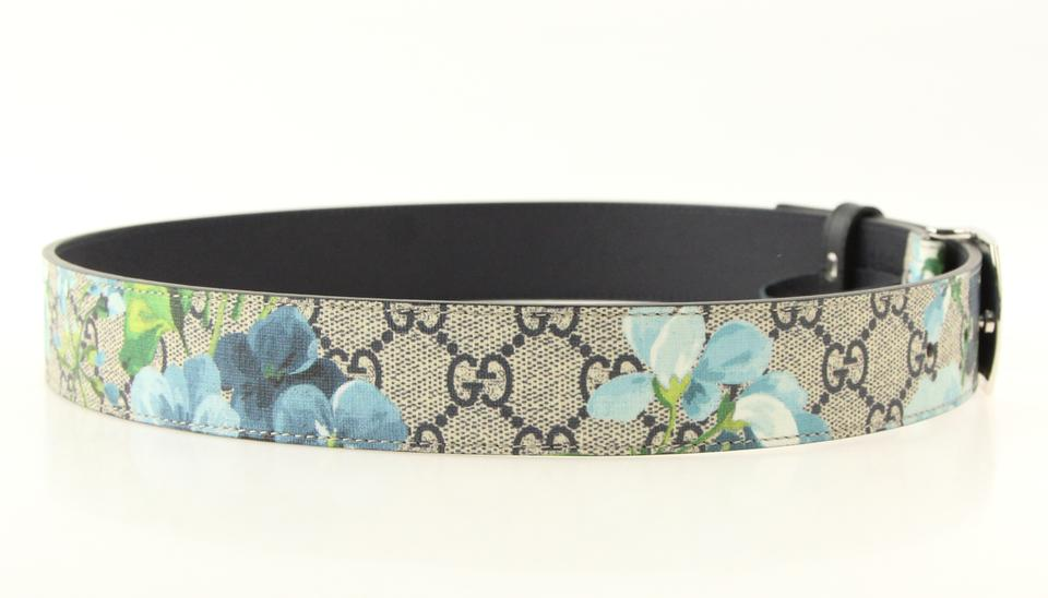 2ac72d4528d Gucci Multicolor Gg Blooms Supreme Belt - Tradesy