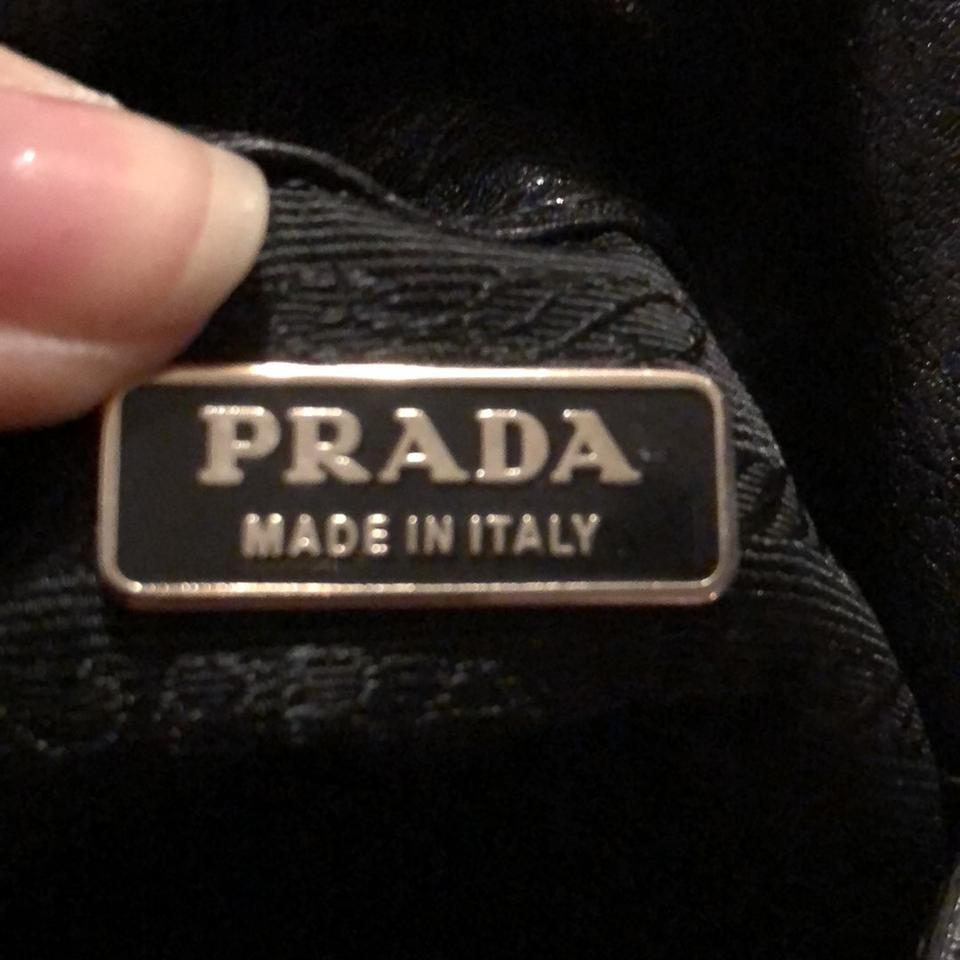 Black Leather Evening Gno Prada Or Wristlet 1FTqwpnx