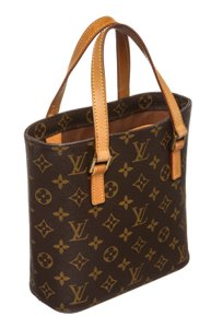 Louis Vuitton Vavin Deauville Cosmetic Toiletry Monogram Tote in Brown