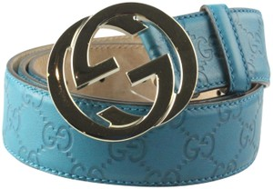 Gucci Gucci Embossed Belt