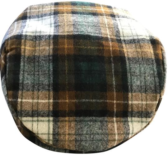 Pendleton Green Plaid Classic Cabbie/Newsboy Sz: S Hat 74% off retail