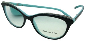 Tiffany & Co. TIFFANY & CO. Eyeglasses TF 2147-B 8055 52-16 140 Black on Blue Frame