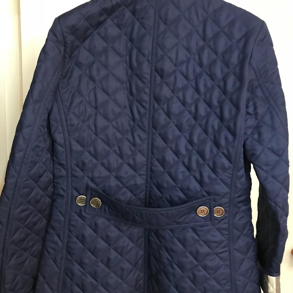 08dee50a94c8 Burberry Brit Sapphire Copford Spring Jacket Size 2 (XS) - Tradesy