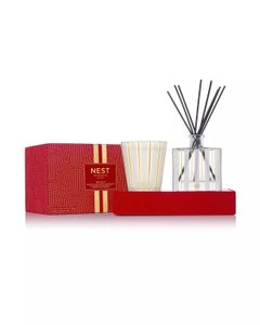 NEST Holiday Candle and Diffuser Set