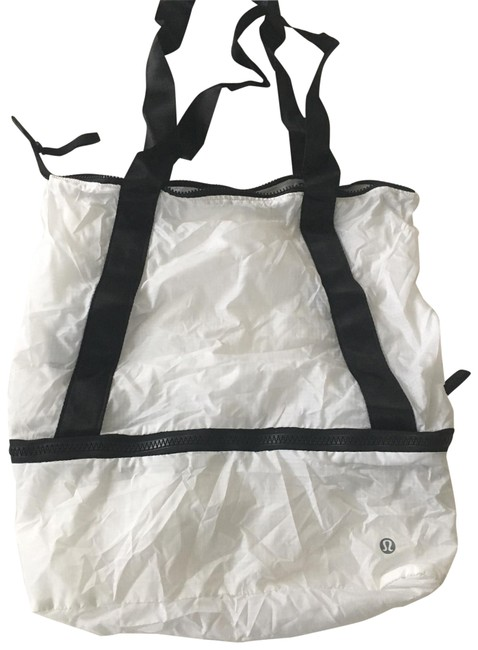Item - Lightly White Nylon Tote