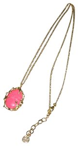Lilly Pulitzer Stunning Coral Reef Pendant on gorgeous gold chain