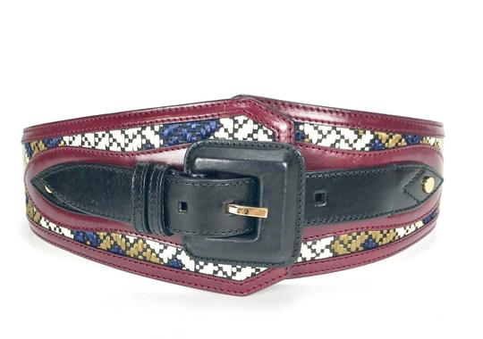 Burberry Prorsum LEATHER WOVEN M BELT Image 0