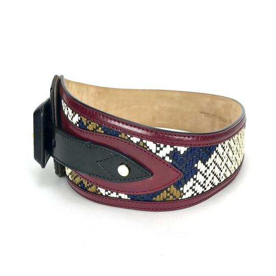Burberry Prorsum LEATHER WOVEN M BELT Image 1