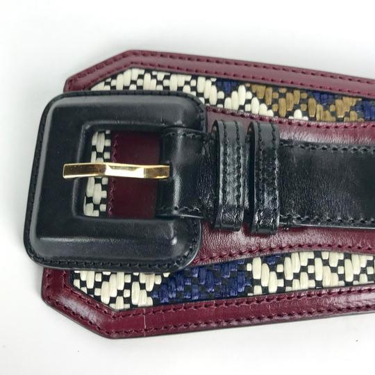 Burberry Prorsum LEATHER WOVEN M BELT Image 2