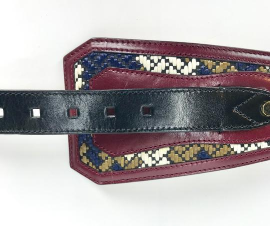 Burberry Prorsum LEATHER WOVEN M BELT Image 3