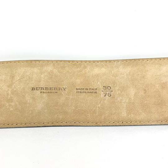 Burberry Prorsum LEATHER WOVEN M BELT Image 5