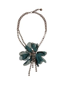 Lanvin Floral-Embellished Necklace