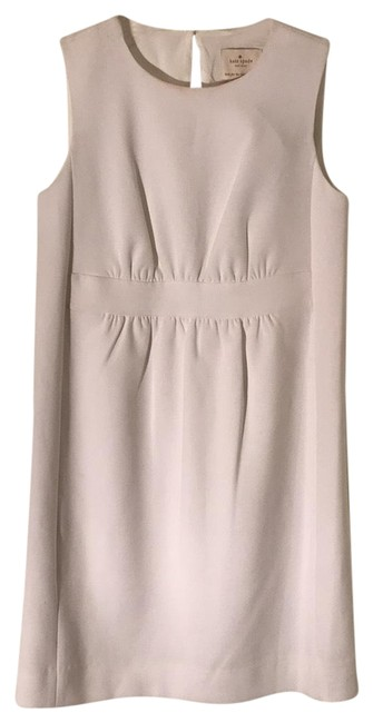 Item - Fresh White Ruched Short Cocktail Dress Size 2 (XS)