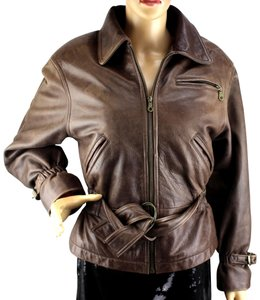 Colebrook & Co. Brown Leather Jacket