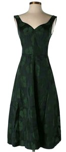 Tory Burch Sleeveless Floral Jacquard A-line Sweetheart Dress
