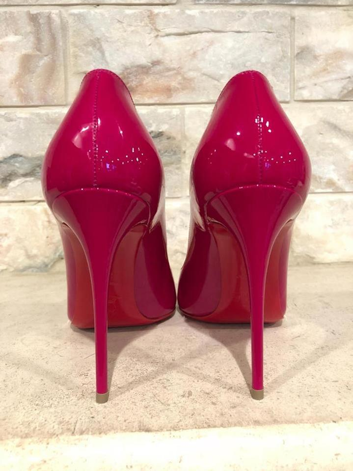 66d7007e365 Christian Louboutin Pigalle Follies Stiletto Patent Classic pink Pumps  Image 11. 123456789101112