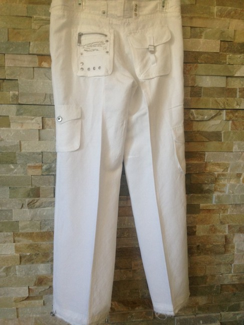 By Deep Los Angeles Cargo Pants White