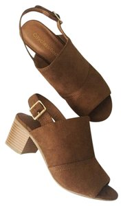 City Classified Brown Sandals