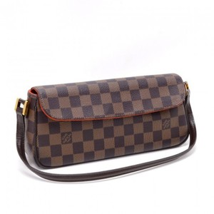 Louis Vuitton Recoleta Canvas Brown Checkerboard Shoulder Bag