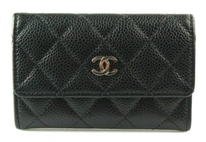 Chanel Quilted Flap Card