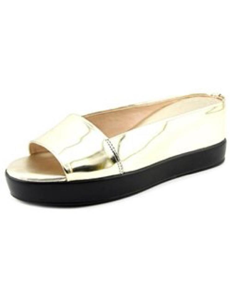 3977c2c9e4d1 French Connection Gold Pepper Light Wedges Size US 9.5 Regular (M