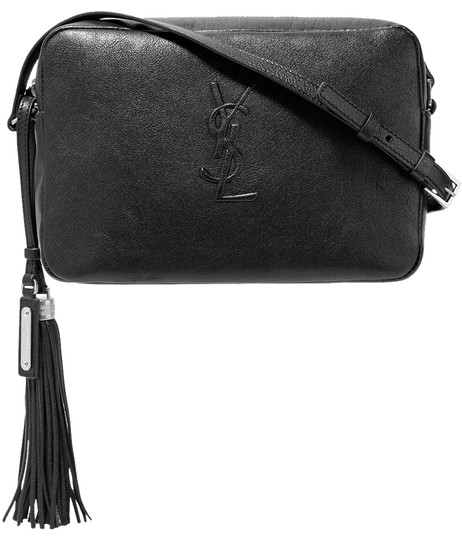 Saint Laurent Black Leather Small Lou Camera Bag Shoulder