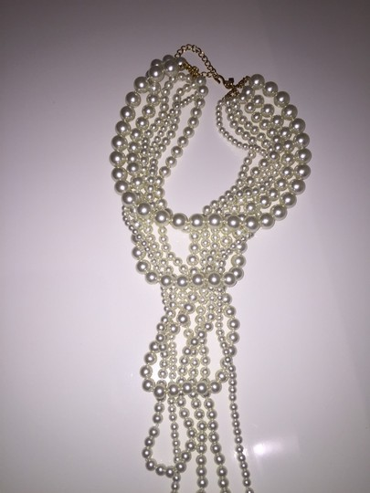 Kenneth Jay Lane Resin Pearl Necklace