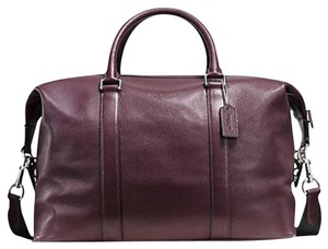 Coach Duffle Voyager Brown Travel Bag