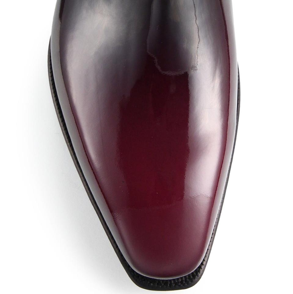 Cherry Arca Shoes Patina In Patent rdrCXwq