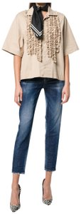 Dsquared2 Relaxed Fit Jeans-Distressed