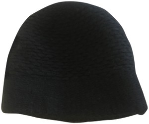 Helmut Lang Wool Blend Hat black beanie hat