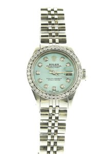 Rolex Rolex Lady-Datejust Stainless Steel Skyblue MOP 26mm Automatic Watch
