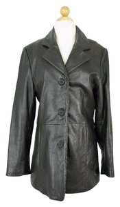 Adler Collection Duster Dark Chocolate Brown Leather Jacket