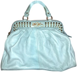 Betsey Johnson Vintage Satchel in Turquoise
