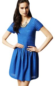 Yumi short dress Blue Rainbow Pocket Slip on Tradesy